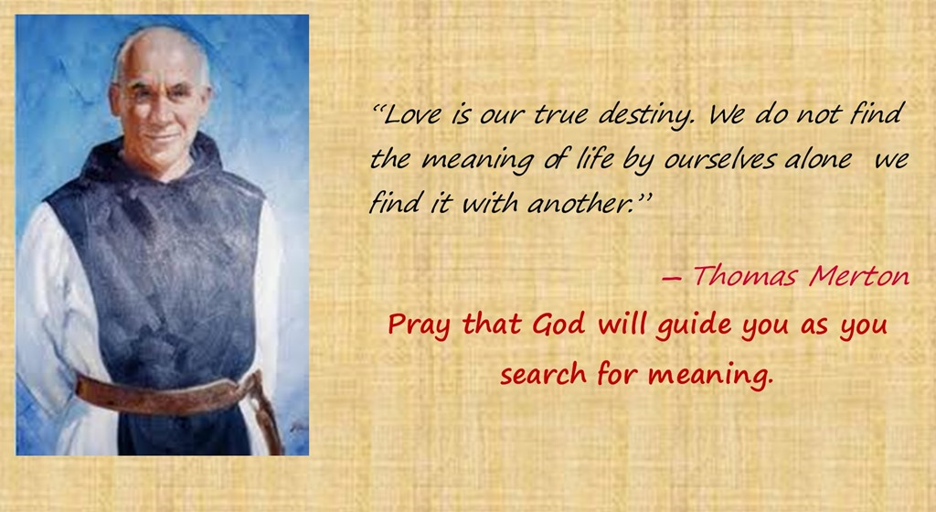 thomas merton quote #3